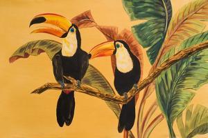 Toucans I by Linda Baliko