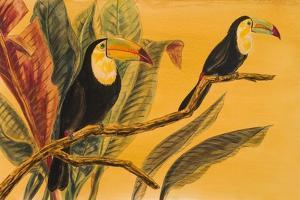 Toucans II by Linda Baliko