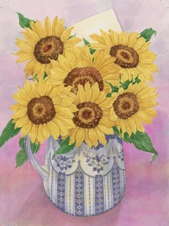 Sunflowers, 1998 by Linda Benton