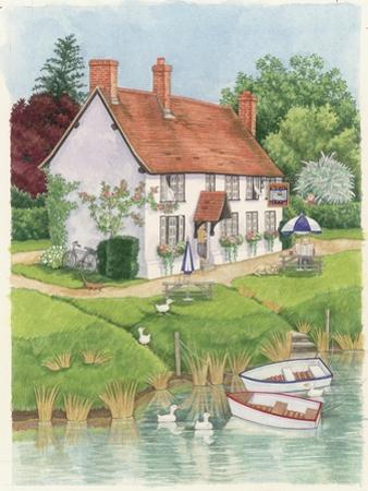 The Boat Inn, 2003 by Linda Benton
