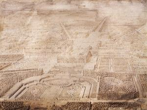 The Castle and Gardens of Versailles, 1684 by Linda Benton
