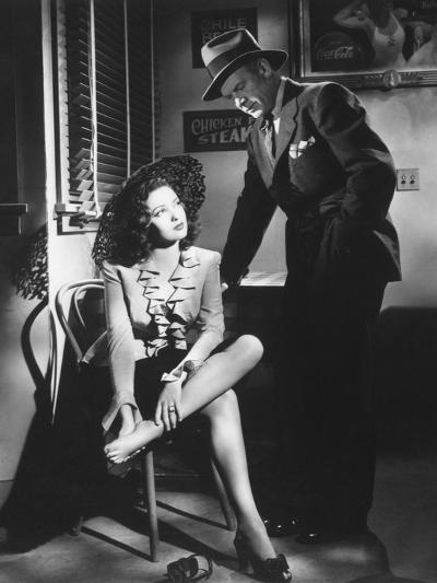 Linda Darnell, Charles Bickford, Fallen Angel, 1945--Photographic Print