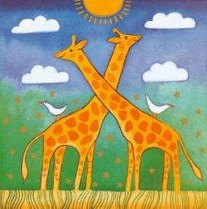 Giraffes by Linda Edwards