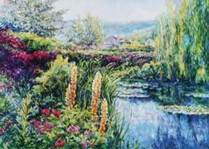 Giverny in Bloom by Linda Lee