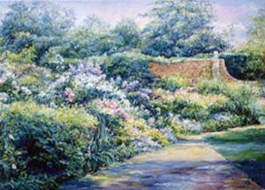 Hidcote Garden Wall by Linda Lee