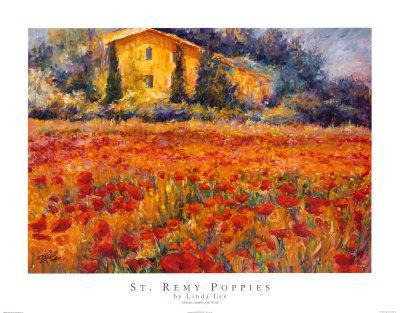 St. Remy Poppies