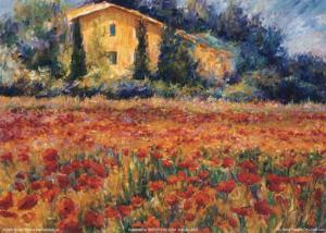 St. Remy Poppies by Linda Lee