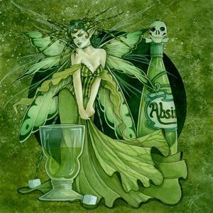 Absinth Fairy by Linda Ravenscroft