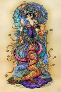 Mask of Colours I by Linda Ravenscroft