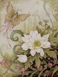Mystic Garden Study by Linda Ravenscroft