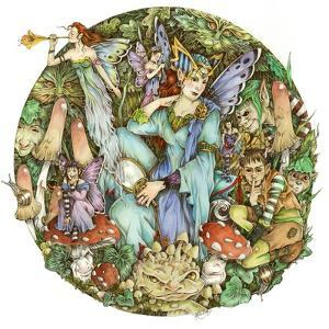 Titania and Puck by Linda Ravenscroft