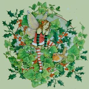 Winter Robin 2 by Linda Ravenscroft