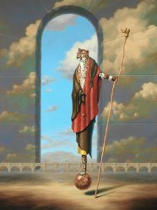 Monty Ridd Cheetah The Visionary by Linda Ridd Herzog