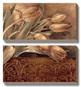 Copper Tulips II by Linda Thompson