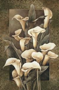 Golden Calla Lilies by Linda Thompson