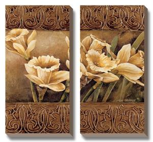 Golden Daffodils II by Linda Thompson