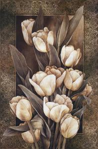 Golden Tulips by Linda Thompson