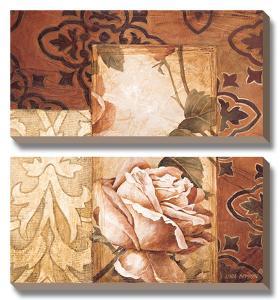 Linen Roses I by Linda Thompson
