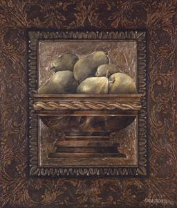 Rustic Bowl of Pears by Linda Thompson