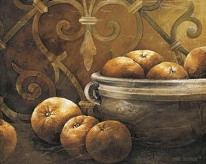 Tuscan Orange by Linda Thompson