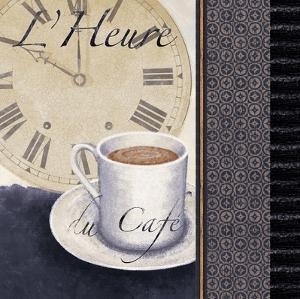 L'Heure du Cafe by Linda Wood