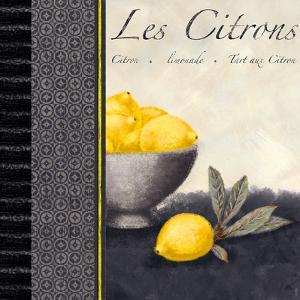 Les Citrons II by Linda Wood