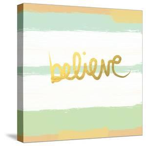 Believe Gold by Linda Woods