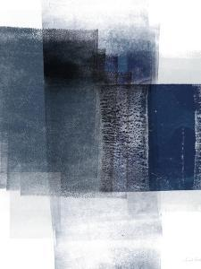 Blue Abstract II by Linda Woods