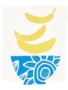 Bowl of Bananas by Linda Woods
