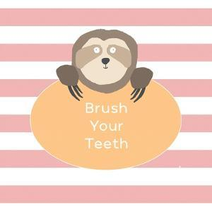 Brush Your Teeth Sloth by Linda Woods