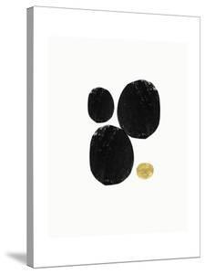 Elegant Modern Abstract V by Linda Woods