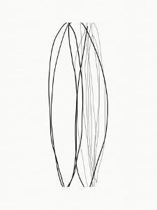 Elegant Modern Abstract VII by Linda Woods