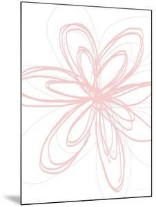 Inky Flower I by Linda Woods