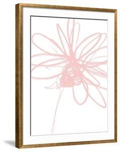 Inky Flower III by Linda Woods