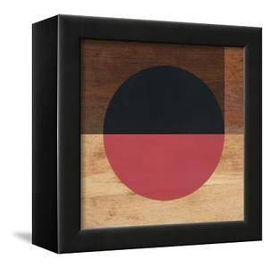 Mod Black and Red by Linda Woods