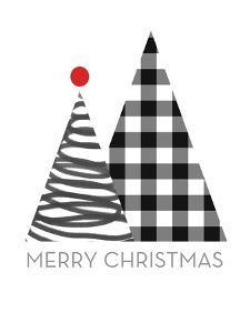 Modern Merry Christmas by Linda Woods
