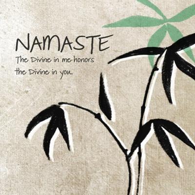 Namaste by Linda Woods
