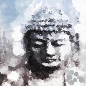 Peaceful Buddha by Linda Woods