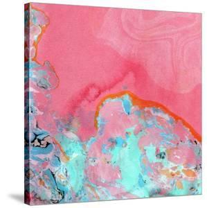 Pink Marble by Linda Woods