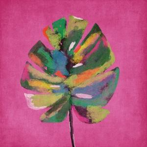 Pink Palm by Linda Woods