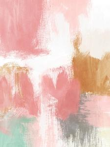 Spring Abstract II by Linda Woods
