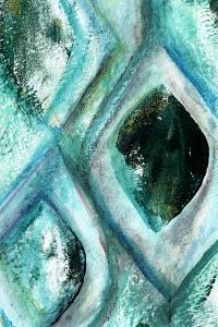 Teal by Linda Woods