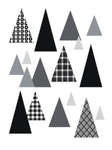 Triangle Tree Farm by Linda Woods