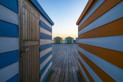 Beach Huts on the Pier