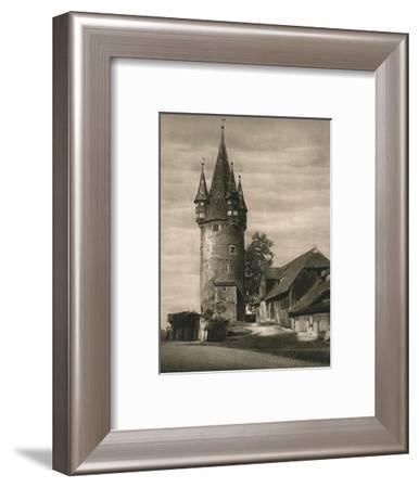 'Lindau im Bodensee - Diebsturm', 1931-Kurt Hielscher-Framed Photographic Print