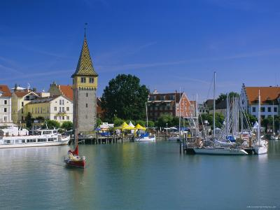 Lindau, Lake Constance, Bavaria, Germany, Europe-Gavin Hellier-Photographic Print