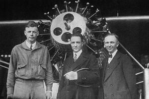 Lindbergh, Byrd, Chamberln