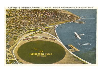 Lindbergh Field Airport, San Diego, California--Art Print