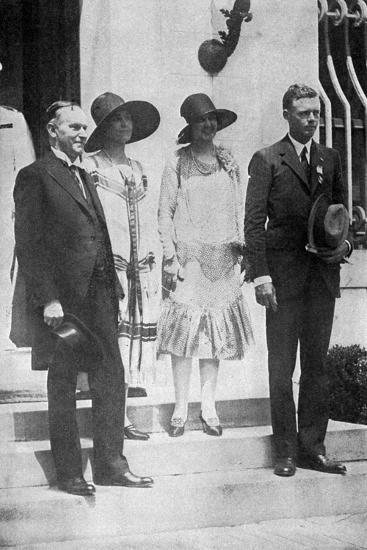 Lindbergh, White House--Photographic Print