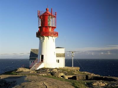 Lindesnes Fyr Lighthouse, on South Coast, Southernmost Point of Norway, Norway, Scandinavia-Gavin Hellier-Photographic Print
